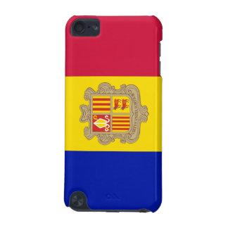 Bandera de la caja de la mota del tacto de Andorra Funda Para iPod Touch 5G