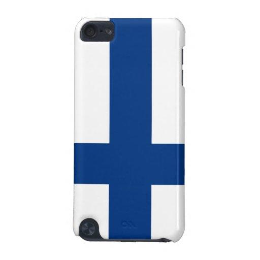 Bandera de la caja de la mota del tacto de Finland