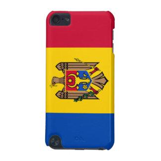 Bandera de la caja de la mota del tacto del Moldav Funda Para iPod Touch 5G
