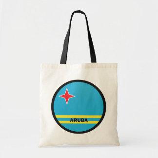 Bandera de la calidad de Aruba Roundel Bolsa