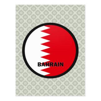 Bandera de la calidad de Bahrein Roundel Tarjetas Postales