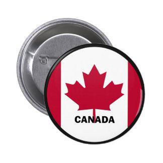 Bandera de la calidad de Canadá Roundel Pin