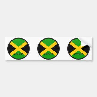 Bandera de la calidad de Jamaica Roundel Pegatina Para Auto