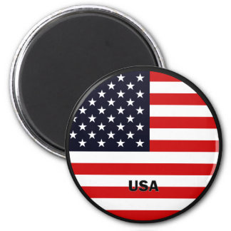 Bandera de la calidad de los E E U U Roundel Imán