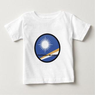 Bandera de la calidad de Marshall Islands Roundel Playera
