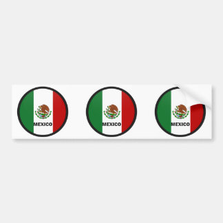Bandera de la calidad de México Roundel Pegatina Para Auto