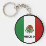 Bandera de la calidad de México Roundel Llavero