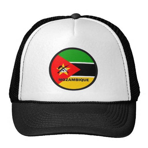 Bandera de la calidad de Mozambique Roundel Gorra