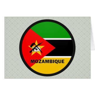 Bandera de la calidad de Mozambique Roundel Tarjetas