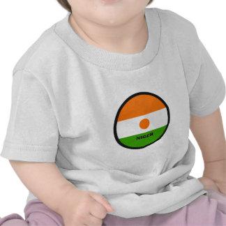 Bandera de la calidad de Niger Roundel Camisetas