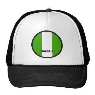 Bandera de la calidad de Nigeria Roundel Gorro