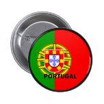 Bandera de la calidad de Portugal Roundel Pins