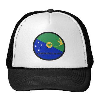 Bandera de la calidad de Roundel de la Isla de Nav Gorras De Camionero