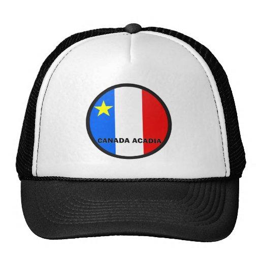 Bandera de la calidad de Roundel del Acadia de Can Gorras