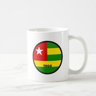 Bandera de la calidad de Togo Roundel Taza