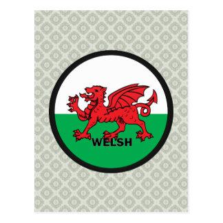 Bandera de la calidad Galés Roundel Postal