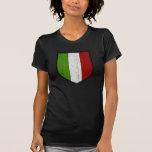 Bandera de la camisa para mujer de Italia