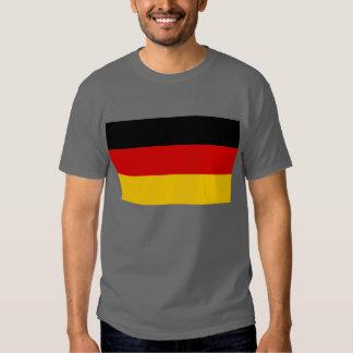Bandera de la camiseta de Alemania Remeras