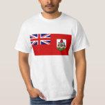 Bandera de la camiseta de Bermudas Camisas