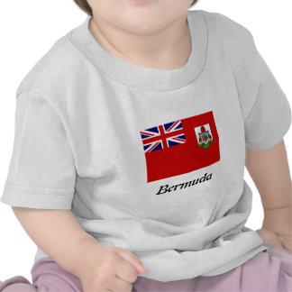 Bandera de la camiseta de los niños de Bermudas