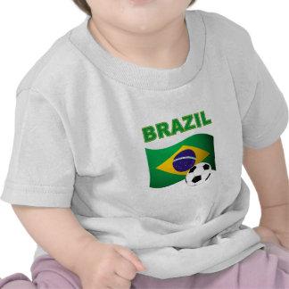 Bandera de la camiseta del mundial del Brasil