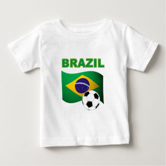 Bandera de la camiseta del mundial del Brasil Polera