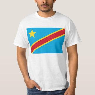Bandera de la camiseta Democratic del República Remera