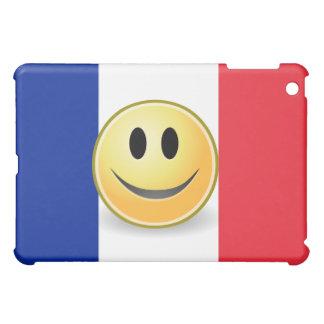 Bandera de la cara del smiley de Francia