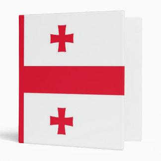 Bandera de la carpeta de la república de Georgia