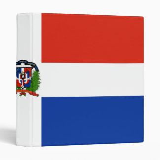 Bandera de la carpeta de la República Dominicana