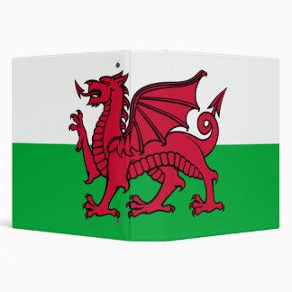 Bandera de la carpeta de País de Gales Avery