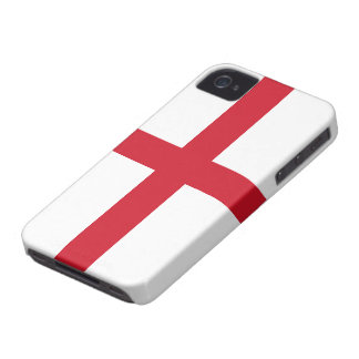 Bandera de la casamata Barely There del iPhone iPhone 4 Fundas