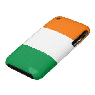 Bandera de la casamata del iPhone 3G/3GS de Irland iPhone 3 Case-Mate Fundas