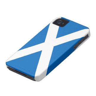 Bandera de la casamata del iPhone 4/4S de Escocia iPhone 4 Case-Mate Fundas