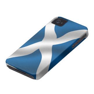 Bandera de la casamata del iPhone 4/4S de Escocia Case-Mate iPhone 4 Fundas