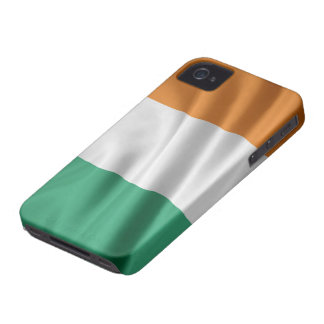 BANDERA de la casamata del iPhone 4/4S de IRLANDA iPhone 4 Case-Mate Fundas