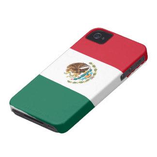 Bandera de la casamata del iPhone 4 de México iPhone 4 Case-Mate Cárcasa