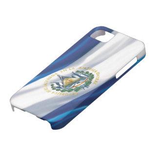 Bandera de la casamata del iPhone 5 de El Salvador iPhone 5 Case-Mate Funda