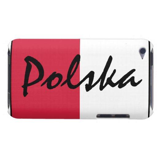 Bandera de la casamata del tacto de Polonia Polska iPod Touch Cárcasas