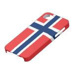 Bandera de la casamata ID™ del iPhone 5 de Noruega iPhone 5 Protectores