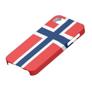 Bandera de la casamata ID™ del iPhone 5 de Noruega iPhone 5 Carcasa