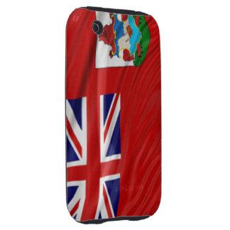 Bandera de la casamata Tough™ del iPhone 3G/3GS de iPhone 3 Tough Coberturas
