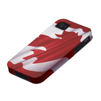 Bandera de la casamata Tough™ del iPhone 4 de Cana Vibe iPhone 4 Fundas