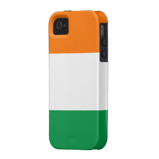 Bandera de la casamata Tough™ del iPhone 4 de Irla iPhone 4/4S Carcasa
