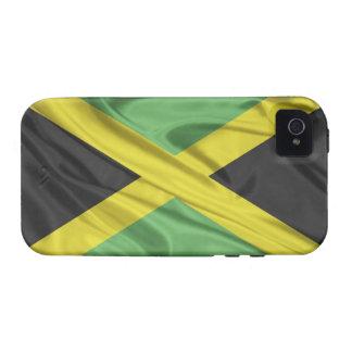 Bandera de la casamata Tough™ del iPhone 4 de Jama iPhone 4 Carcasas