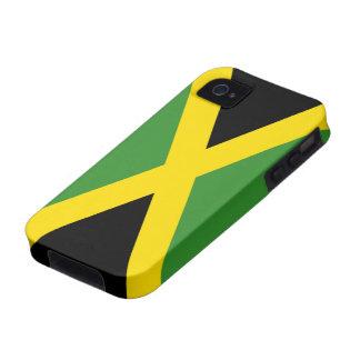 Bandera de la casamata Tough™ del iPhone 4 de Jama iPhone 4/4S Carcasas