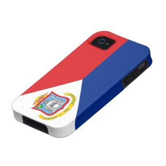 Bandera de la casamata Vibe™ del iPhone 4 de Sint iPhone 4/4S Carcasas