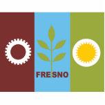 Bandera de la ciudad de Fresno Esculturas Fotograficas