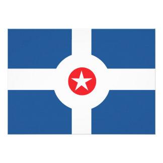 Bandera de la ciudad de Indianapolis Comunicados Personales