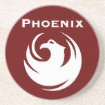Bandera de la ciudad de Phoenix Posavaso Para Bebida